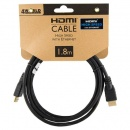4World 08604 kabel HDMI do HDMI v1.4 1,8 m