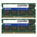 Adata 2 x 8192 MB 1333 MHz DDR3 Non-ECC CL9 (AD3S1333W8G9-2) - pamięć do notebooka
