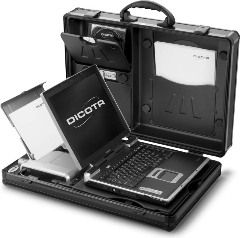4c42574ed85fd Dicota DataDesk 100 N20788A, torba na notebooka 14,1 - aluminium ...