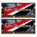 G.Skill Ripjaws 2 x 4096 MB 1600 MHz DDR3 Non-ECC CL9 (F3-1600C9D-8GRSL) - pamięć do notebooka
