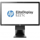 "HP EliteDisplay E221c D9E49AA / monitor 21,5"" / Full HD (1920 x 1080) / IPS / VGA / DVI / DP / 2 x USB 2.0 / VESA 100 x 100 / pivot"