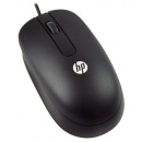 HP USB Optical Scroll Mouse QY777AA, przewodowa mysz do notebooków [czarna]