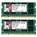 Kingston 2 x 8192 MB 1333 MHz DDR3 Non-ECC CL9 (KVR13S9K2/16) - pamięć do notebooka
