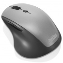 Lenovo ThinkBook Wireless Media Mouse 4Y50V81591, bezprzewodowa mysz do notebooków [srerbno-czarna]